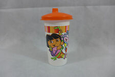Tupperware Dora The Explorer Bell Tumbler With Sippy Seal Orange New