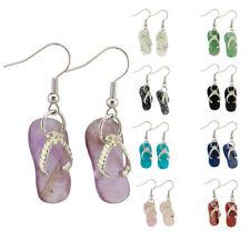 Rose Quartz Amethyst Jewelry Gemstone Pendant Hook Slippers Slippers Earrings