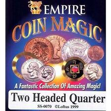 Two Headed Quarter New Magic Trick Joke Prank