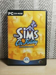 THE SIMS ON HOLIDAY -  Expansion pack - PC Windows Video Game