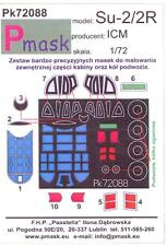 Model Maker 1/72 SUKHOI Su-2 Su-2R Soviet Jet Fighter Paint Mask Set