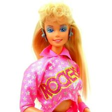 Vintage 1986 Barbie and The Rockers Doll