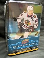 2018-19 UPPER DECK SERIES 2 HOCKEY Factory-Sealed TIN