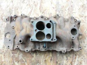 1968 GM Big Block Chevy Intake Manifold 3883948 1966-1968 396/427 Dated K-21-7