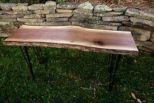 Live Edge Beautiful walnut wood slab table