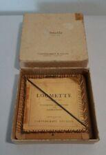 Vintage Original 1935 Loomette Weaving Loom Booklet Needle Glendale California