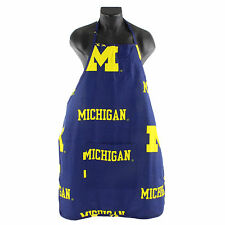 Michigan Wolverines Cotton Apron with Pocket