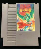 1989 Enix Corp. Nintendo NES Dragon Warrior 1 Cart Only W/ Black Case Nice Art