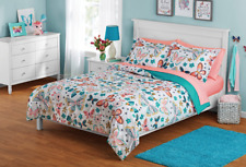 Full Butterfly Bed in a Bag Coordinating Bedding Set