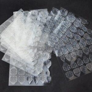 120Pcs Jelly Glue Double-Sided Nail Glue Tape Sticker Adhesive Nail Nail Glue