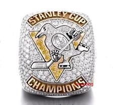 2017 Pittsburgh Penguins Stanley Cup Championship Ring Replica Fan Men Gift