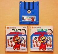 Ex- Golf Japan Course BOXED Nintendo NES Famicom Disk System FC from Japan Fast