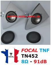 2x ► FOCAL TNF Inverted Dome Tweeter Pair Aluminium Magnesium HighEnd DIY Repair