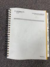Motorola Centracom Series Ii Field Prom Programmer Manual 68P81070E10-O