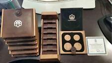 1973 thru 1976 Canada Olympic $5 & $10 Coin Sets Mint Box & COA OGP No Coins