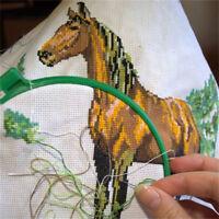 white cotton 11ct aida cloth cross stitch fabric use for embroidery 45*30cm—XJ