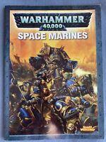 Warhammer 40K Codex Space Marines Marine Army Armies Rule Book Games Workshop GW
