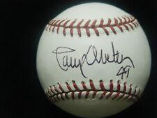 Larry Dierker 2x All Star MOY Houston Astros autographed MLB baseball