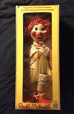 Vintage Hasbro Ronald McDonald Doll IN BOX, GREAT Shape!