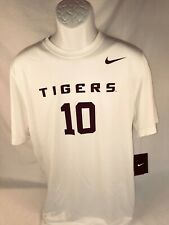 LSU Nike Dri-Fit #10 Short Sleeve Tee  Size:  Large