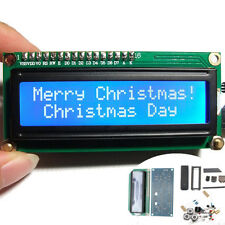 Mini 1602 Calendar LCD Clock Fantasy DIY Electronic Kit