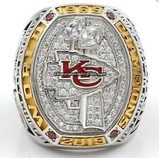 Presale 2019 2020 Kansas City Chiefs Football Team Souvenirs Ring Fan Men Gift