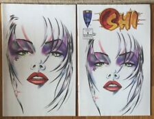 Shi Fan Appreciation Comic #1 with Virgin Variant Cover & Non Variant Cover!