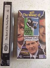 THE BEST OF THE FOOTY SHOW VHS Brand New!