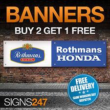 Rothmans Racing Honda Logo garage workshop PVC banner sign (ZA163)