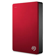 Seagate Stdr5000203 backup Plus Portable disco duro externo 5000 GB rojo