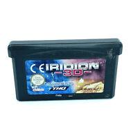 Iridion 3D Jeu Nintendo Game Boy Advance Cartouche PAL