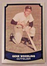 1989 Pacific Baseball Legends Gene Woodling Yankees Baseball Card