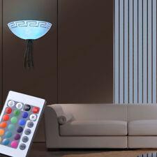 Lampe murale LED salle à manger dimmable rustique éclairage RGB TELECOMMANDE