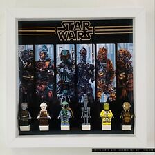 Display Case Frame for Lego Star Wars Bounty Hunters Minifigures