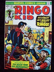 RINGO KID #22 MARVEL COMICS WESTERN