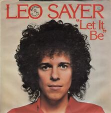 "LEO SAYER-LET IT BE-THE BEATLES COVER SONG-ORIGINAL YUGOSLAV PS 7"" 45rpm 1976"