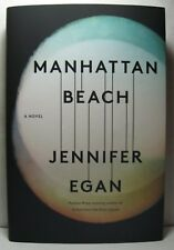 MANHATTAN BEACH by Jennifer Egan, signed & dated 1st/1st hardback