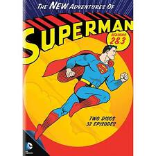 The Adventures of Superman Seasons 2 & 3 Region 1 DVD