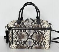Neu Lancaster Leder Schultertasche Tasche Handtasche Bag Carry All UVP 335€ 1-16