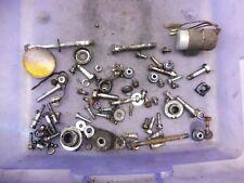1975 Yamaha DT175 175 Enduro Y597-1' misc parts bolts mounts brackets