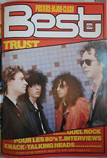 BEST:N.139-TRUST-PRETENDERS-CURE-RORY GALLAGHER-THE KNACK-POLICE-TALKING HEADS