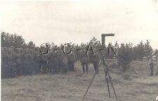 WWII German Army RP- Soldier- Officer Helmet- Artillery Periscope Range Finder