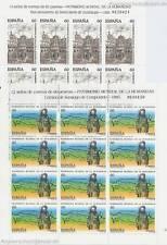 España - 1995 UNESCO patrimonio mundial 3243-44 Klein arco **