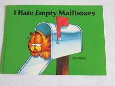 VINTAGE GARFIELD THE CAT POSTCARD...............
