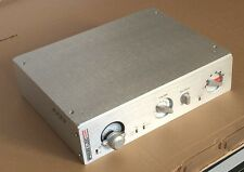 New Swiss Style with VU meter full aluminum amplifier chassis DAC enclosure CNC