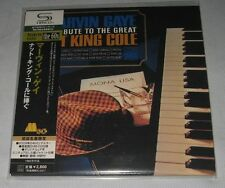 Marvin Gaye - A Tribute to the Great Nat King Cole JAPAN Mini LP SHM CD 2009 NEW