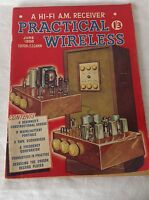 Practical Wireless Vintage Magazine June 1955.