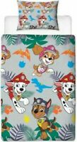 "Paw Patrol NEW ""DINO"" Duvet Cover Bedding Set Single Size FOR BOYS AND GIRLS"