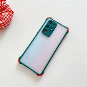 Samsung Galaxy S21 S21+ Ultra 5G Matte Transparent Frosted Shockproof Case Cover