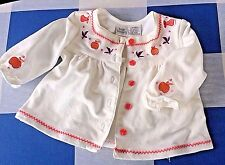 Infant 3 to 6 Months Top Girls Buttons Cotton Spandex Little Wonders Brand